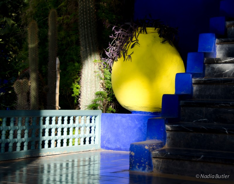 DSC_6576Jardin Majorelle Yellow Pot