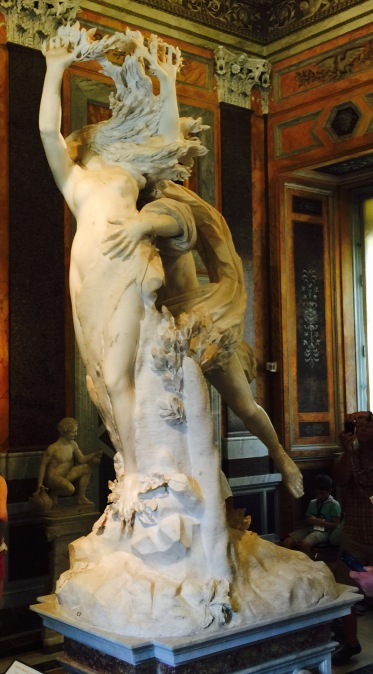 Bernini Galleria Borghese, Rome